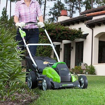 Greenworks 642504707 Cortacésped Inalámbrico, 40 V, Verde