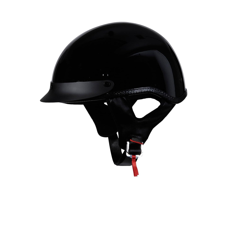 H310 BLACK XL Black, X-Large 818 H310 Half Helmet