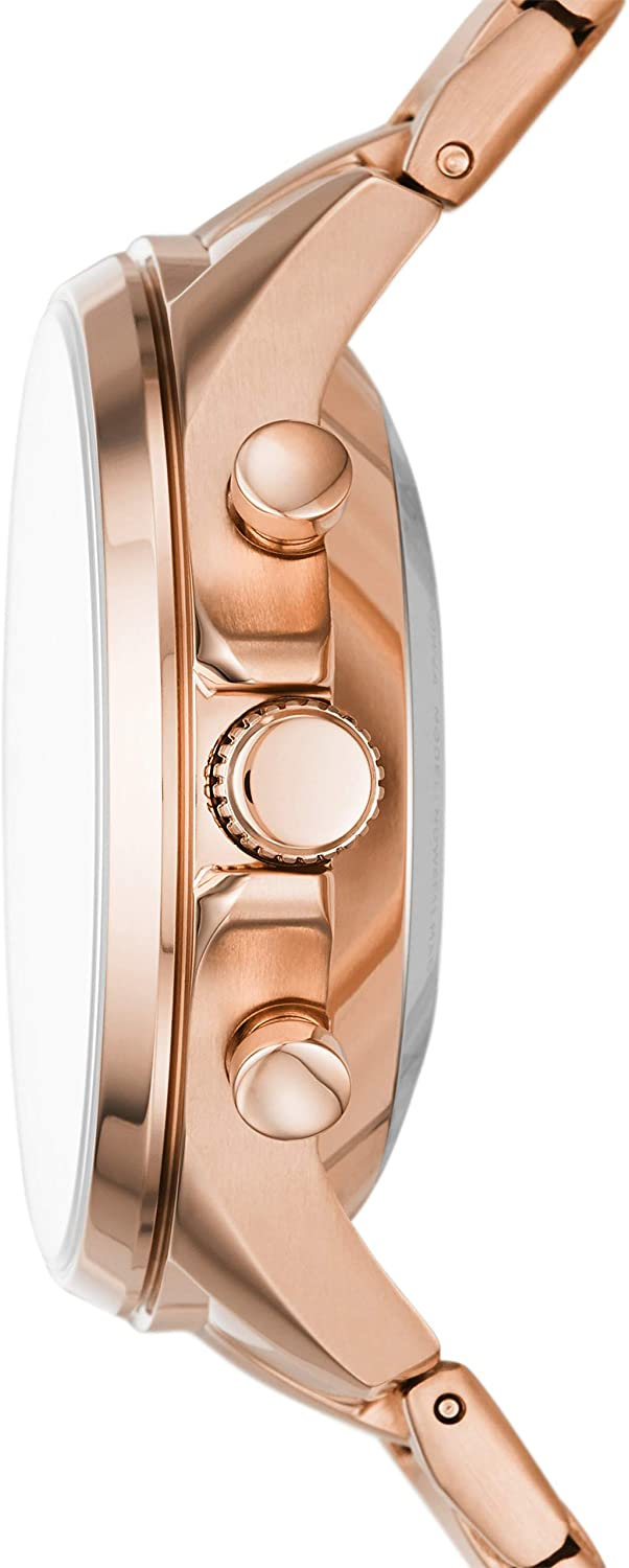 Fossil Women's Sadie Stainless Steel Hybrid Smartwatch with Activity Tracking and Smartphone Notifications Rose Gold
