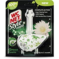 WC NET Toilet Block Style Crystal Green Exotic, 1pc