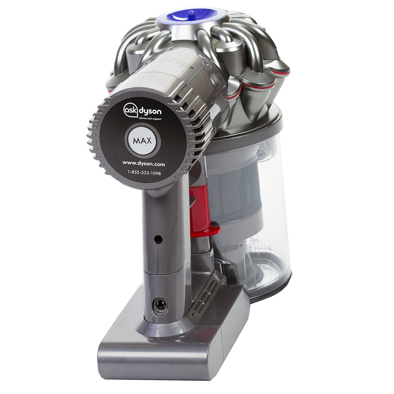 Dyson Animal V6 Fluffy Cordless Vacuum with Attachments Complete Set , with Premium Microfiber Cleaner Bundle
