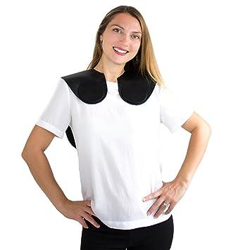 Hair Cutting Collar , Non,Slip, Glossy Silicone Material , Weighted Front  Hair Collar , Cutting Collar for Hair Cut , Weighted Cutting Collar