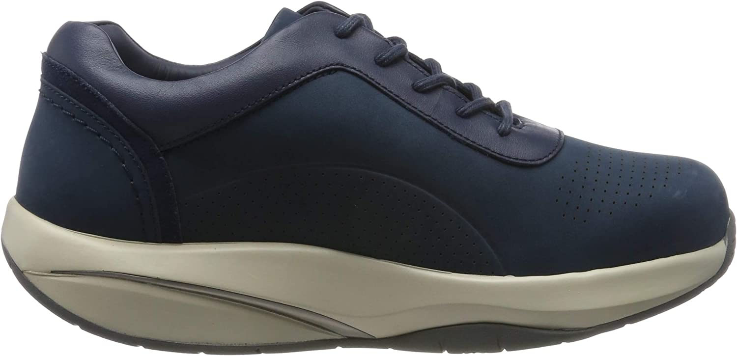 Mbt Taita Lace Up W, Sneakers Basses Femme Bleu Indigo Blue 1193u