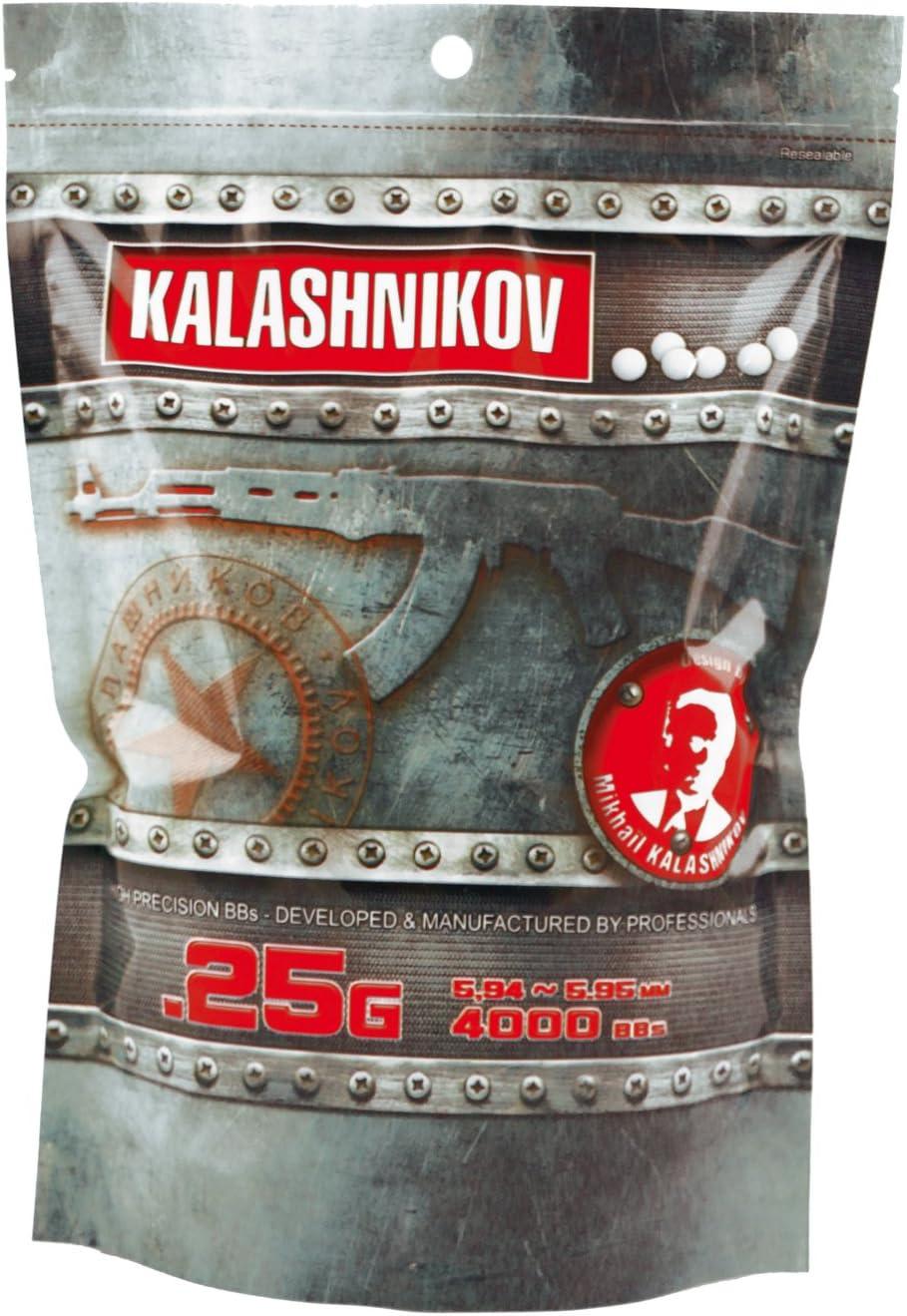 Kalashnikov Billes KALASHNIKOV 0,25 Gr - Balines de plástico para airsoft
