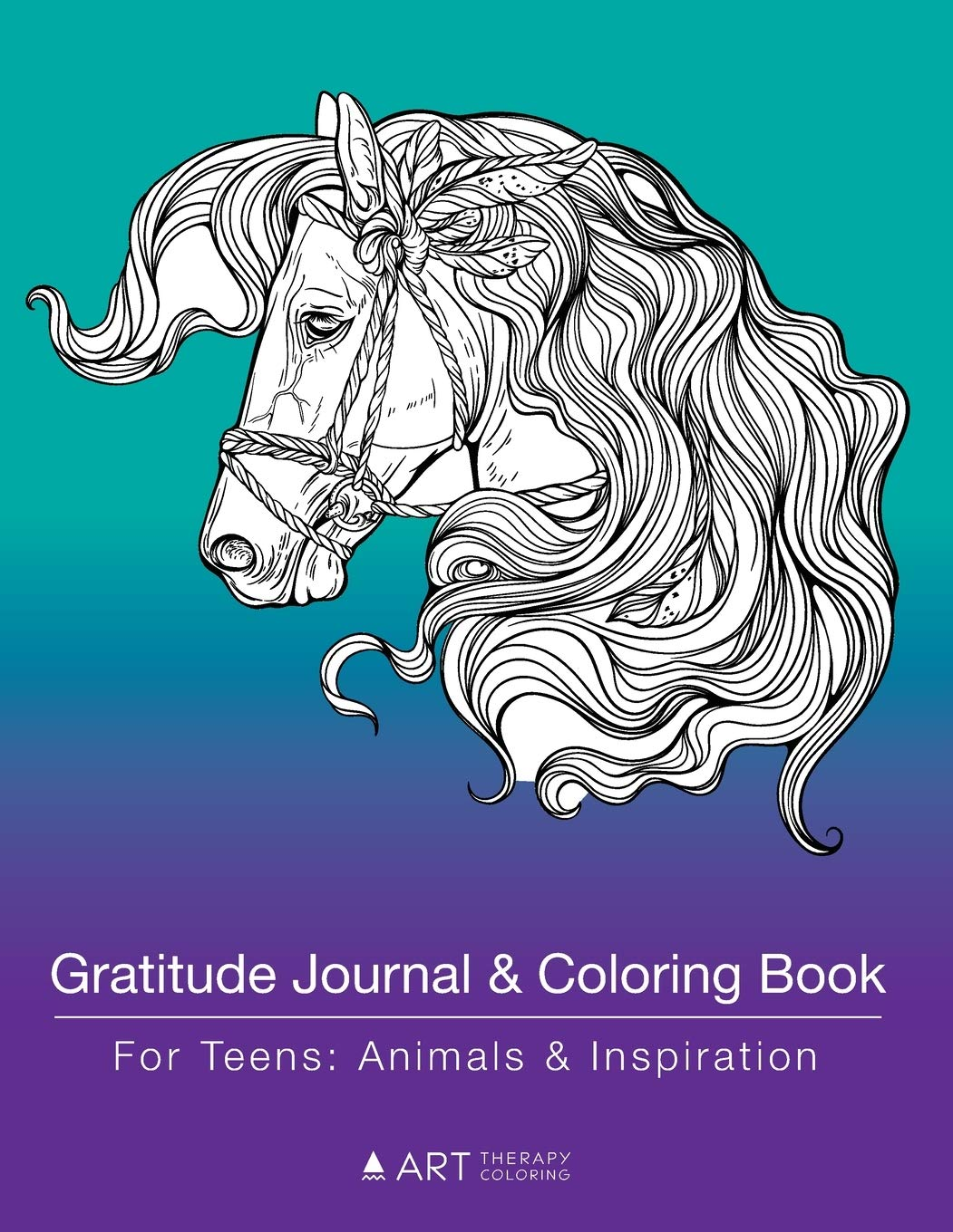 Gratitude Journal And Coloring Book For Teens  Animals And Inspiration  Detailed Animal Designs For Teenagers Tweens Young Adults Boys Girls Journaling Practice For Personal Growth And Mindfulness