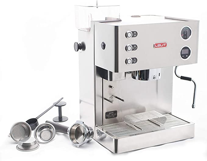 Lelit Kate PL82T-120 - Cafetera expreso semiprofesional para ...