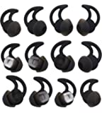 ALXCD Replacement Ear Tips for Bose Soundsport Wireless Headphone, 6 Pair S/M/L Size Silicone Anti-Slip Earbud Tips, Fit…