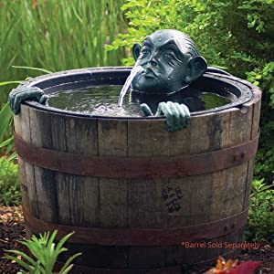 Aquascape Face and Hands Spitter Fountain for Ponds and Water Gardens | 78315