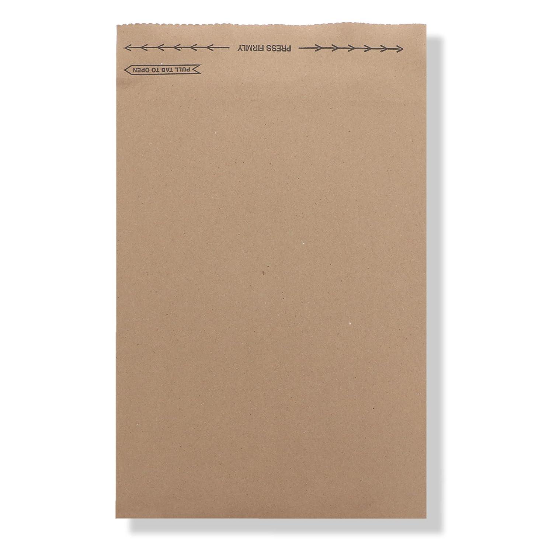Image of Jiffy Rigi Bag Mailer 89273#4, 9-3/8' x 12-7/8', Natural Kraft (Pack of 200) Envelope Mailers
