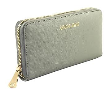 24c11b78d1e6a Armani Jeans Geldbörse Geldbeutel Portemonnaie im Geschenkbox 928532 Taupe