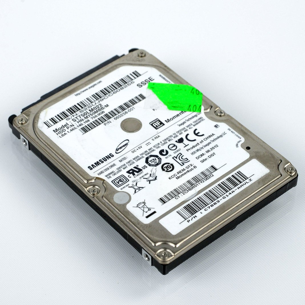 Samsung SpinPoint ST750LM022 750GB SATA/300 5400RPM 8MB 2.5' Hard Drive ET