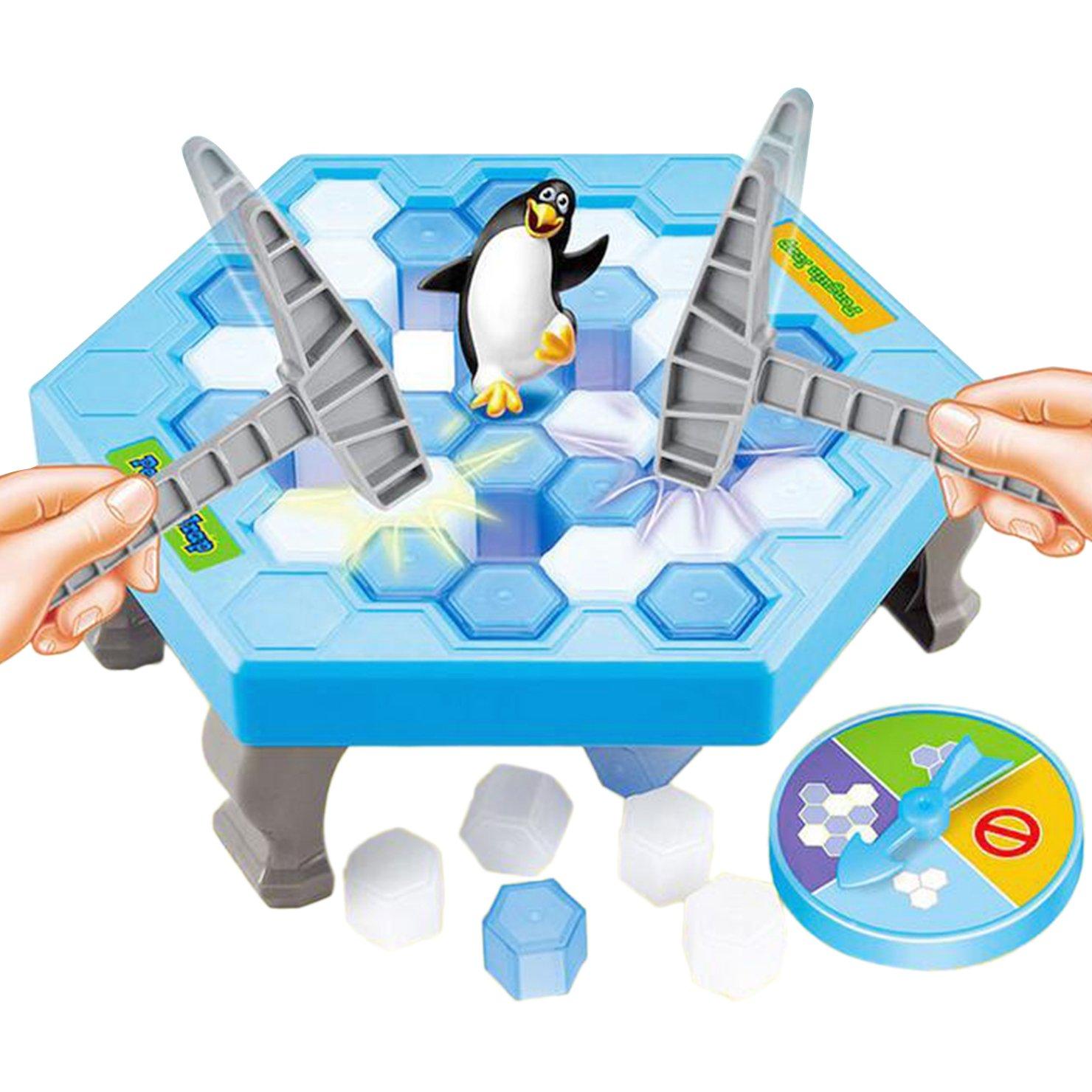 TurnRaise Pinguin Familie Spiel Party-Spiel für Liebhaber Kinder Familie