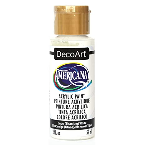 Amazon Decoart Da 01 Americana Acrylic Paint 2 Ounce Titanium