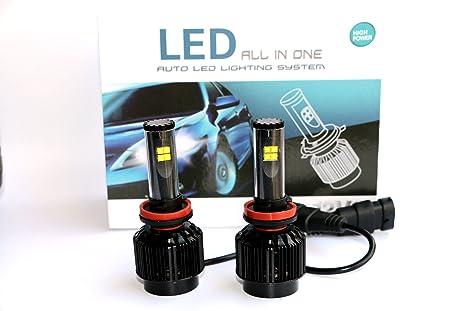 12 vo Turbo Storm LED Headlight Fog Light H11 Juego (2pcs)