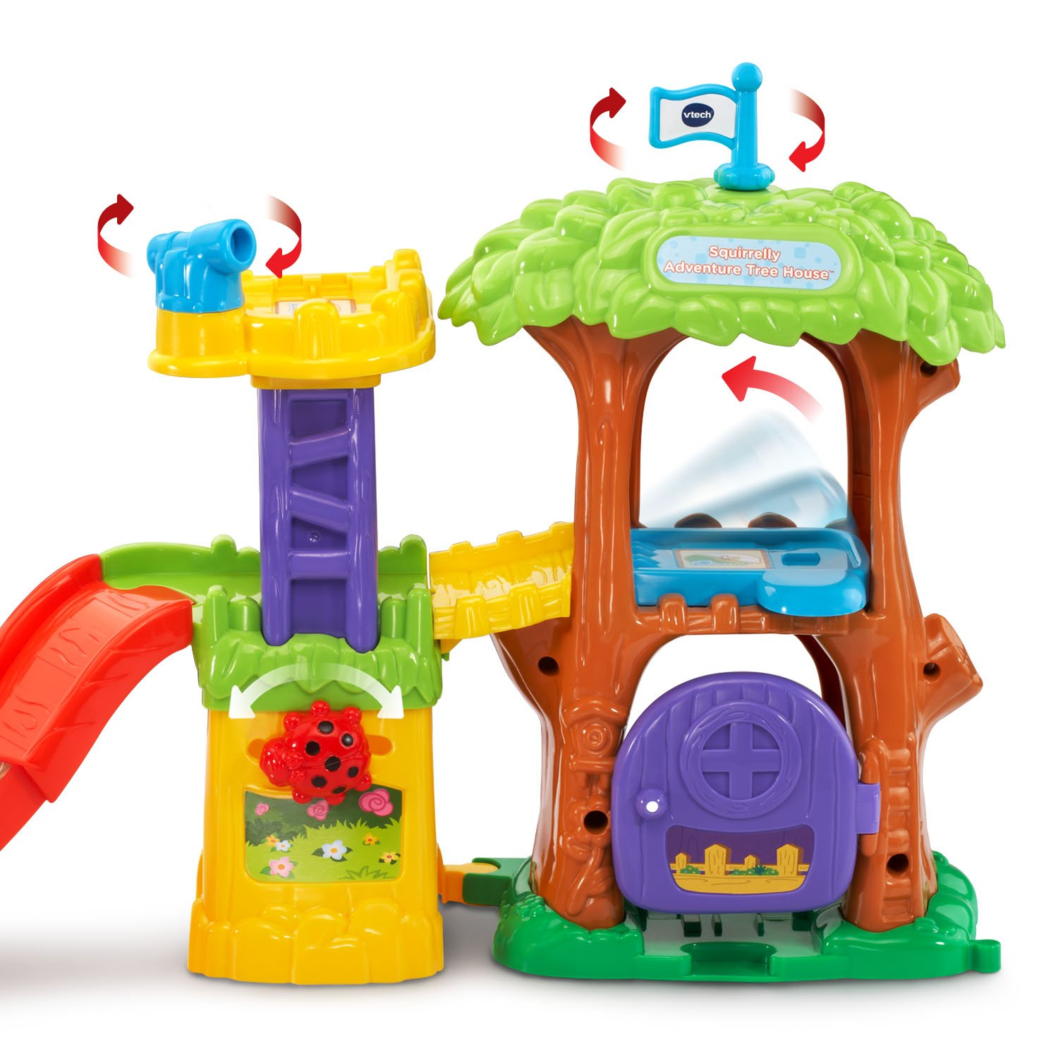 Smart Animals Squirrelly Adventure Tree House Playset Amazonca Toys &