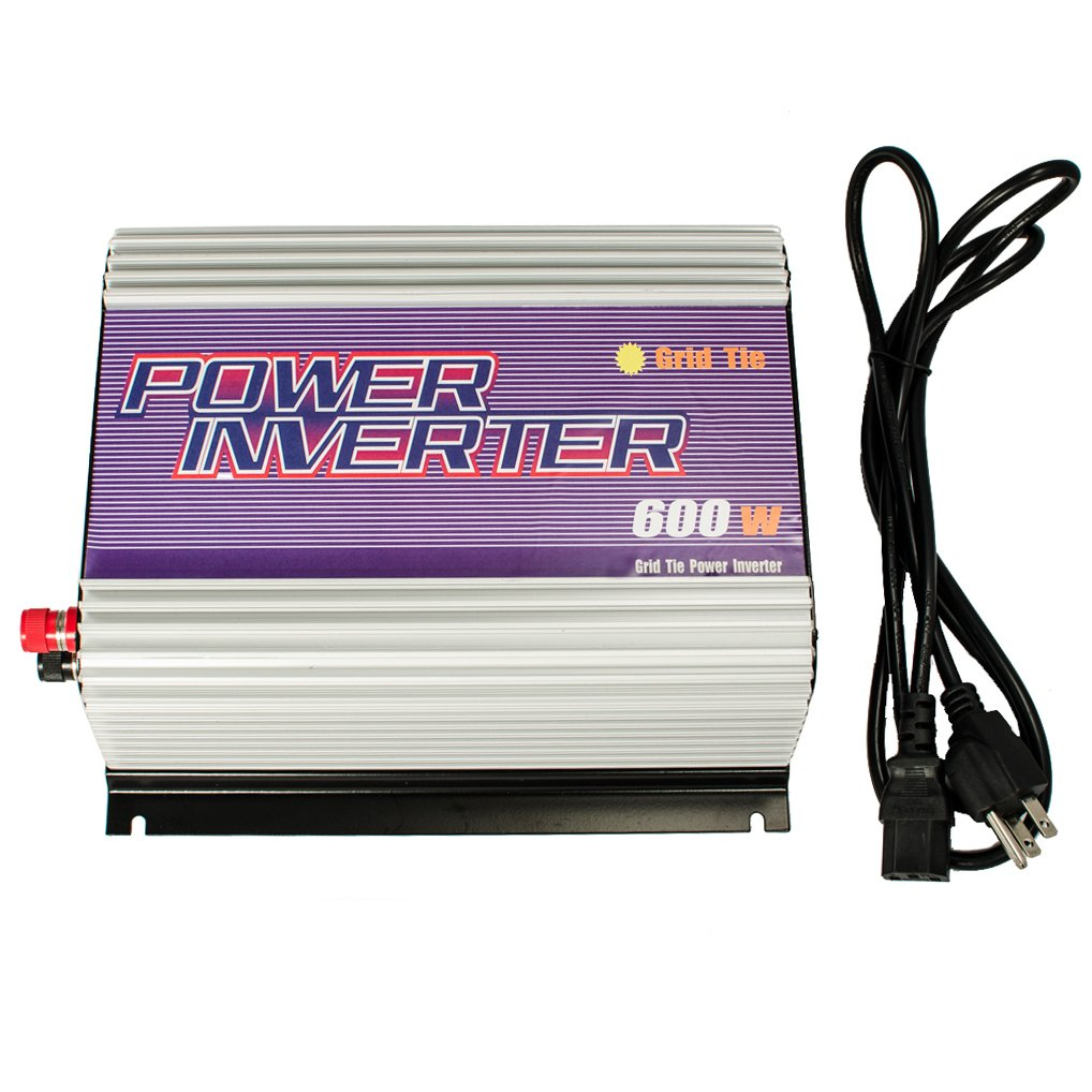 iMeshbean® 600W 600 Watt Grid Tie Inverter MPPT Accept 10.8v-30 V DC/120v AC , Solar Power Pure Sine Wave USA Seller by i-mesh-bean