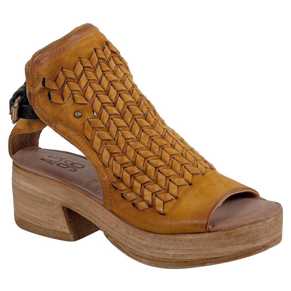 A.S.98 Peanut Women's Platform Sandal B07BHXQVS4 37 M EU|Mustard