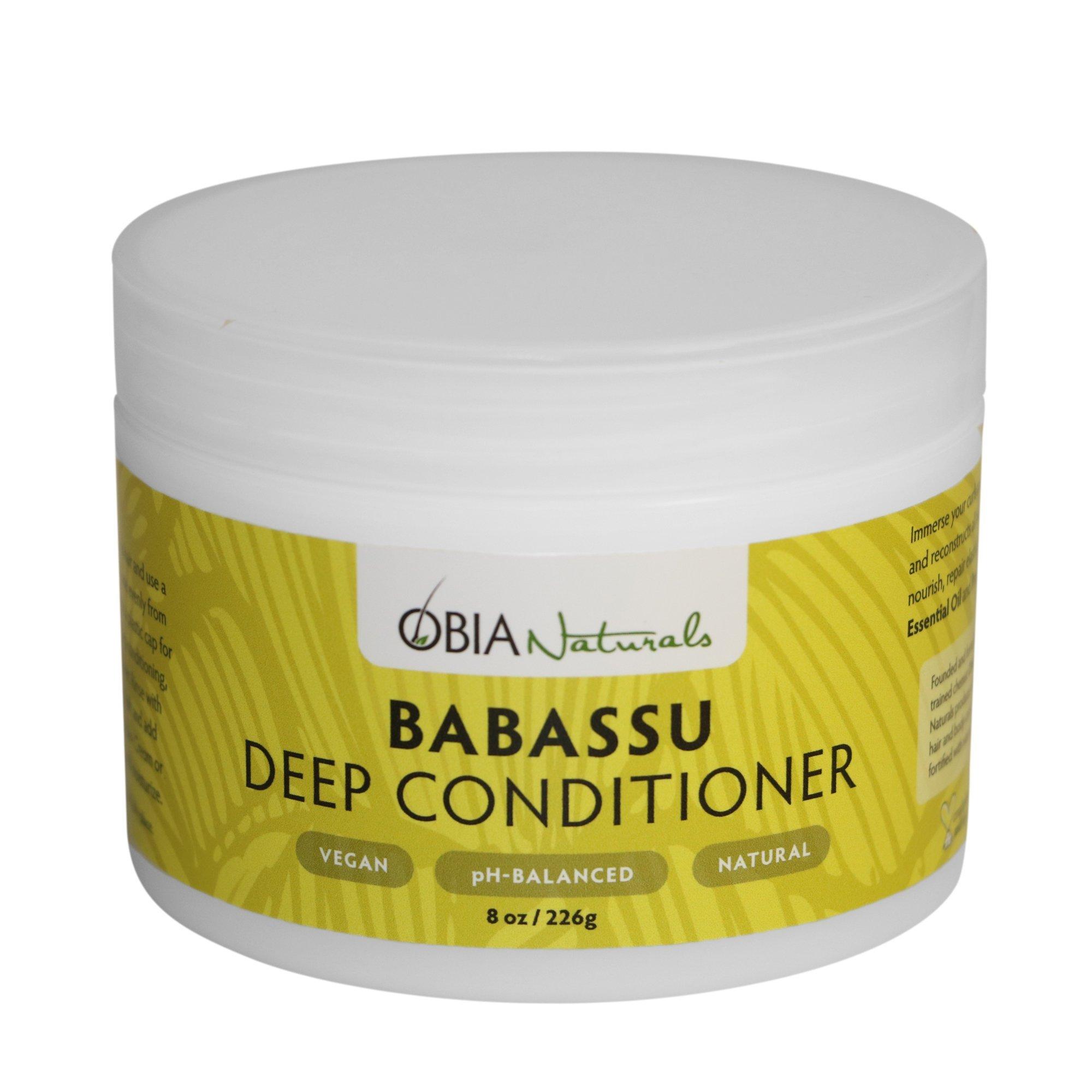 OBIA Naturals Babassu Deep Conditioner, 8 oz.