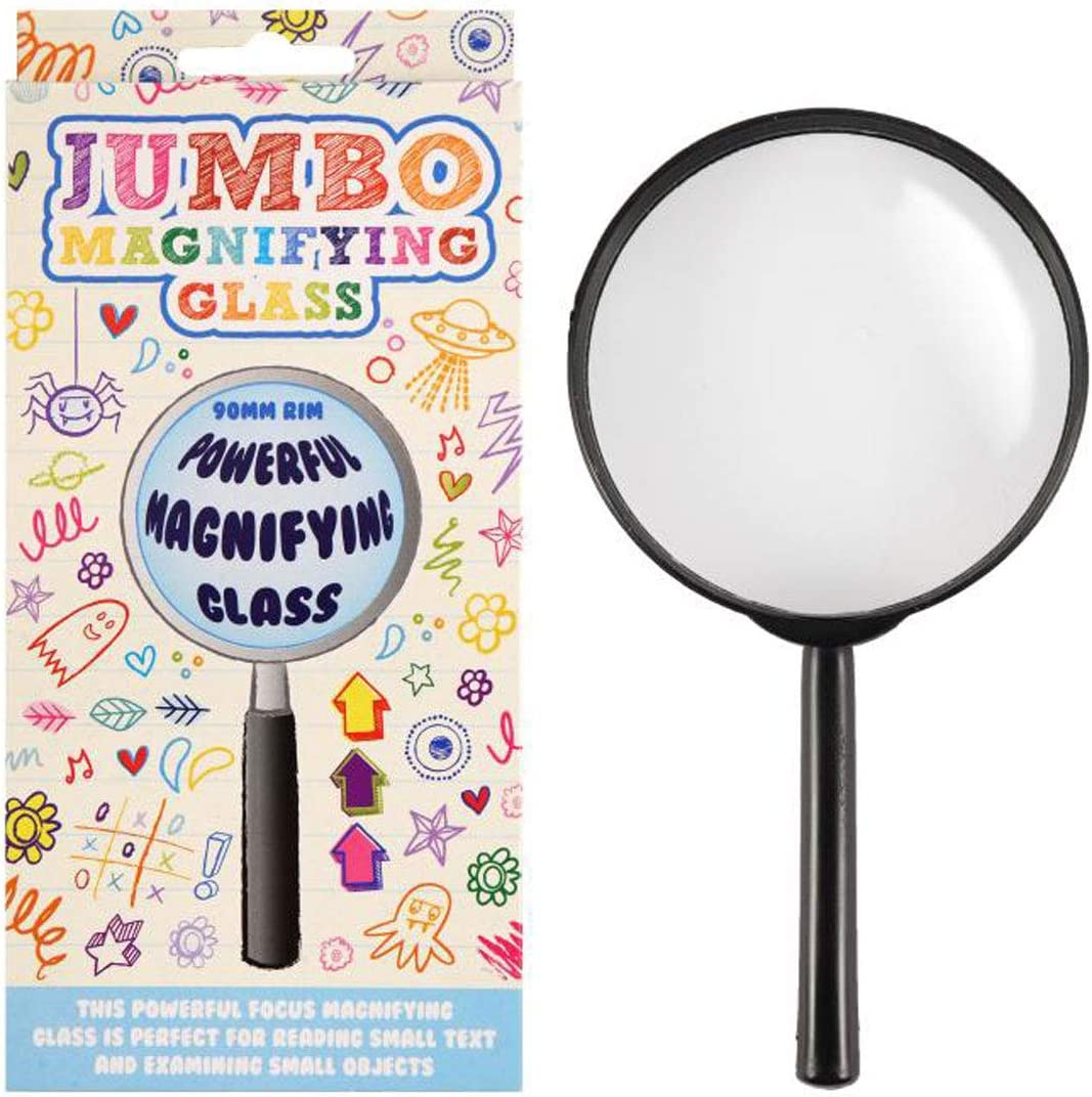labreeze Jumbo Powerful Magnifying Glass for Small Text Objects Fancy Dress Party Prop