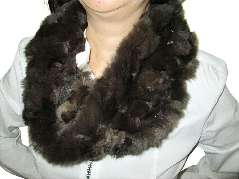 FursNewYork Knit Rex Rabbit...