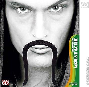 Moustache Chinese Adhesive - Black Disguise Novelty Fake False Moustaches  Beards Sideburns etc for Fancy Dress d3076de0c677