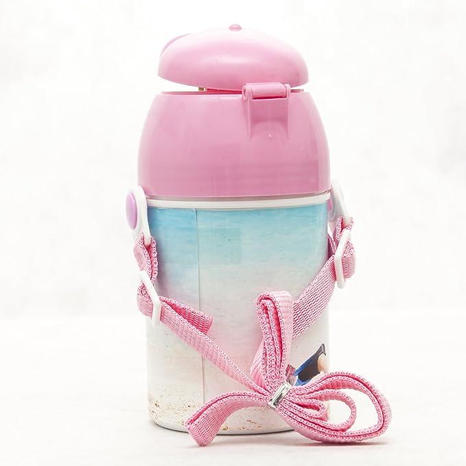 Botella de plástico personalizada con fotos, texto, Logo o dibujo: Amazon.es: Bebé
