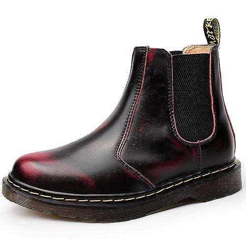 NASONBERG Herren Damen Chelsea Boots Kurz Stiefel Warme