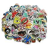 100 Pieces Waterproof Vinyl Stickers for