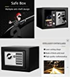 Nakey Digital Electronic Safe Security Box, Small