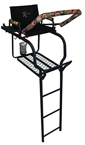 X-Stand The Duke Ladder Stand, Black