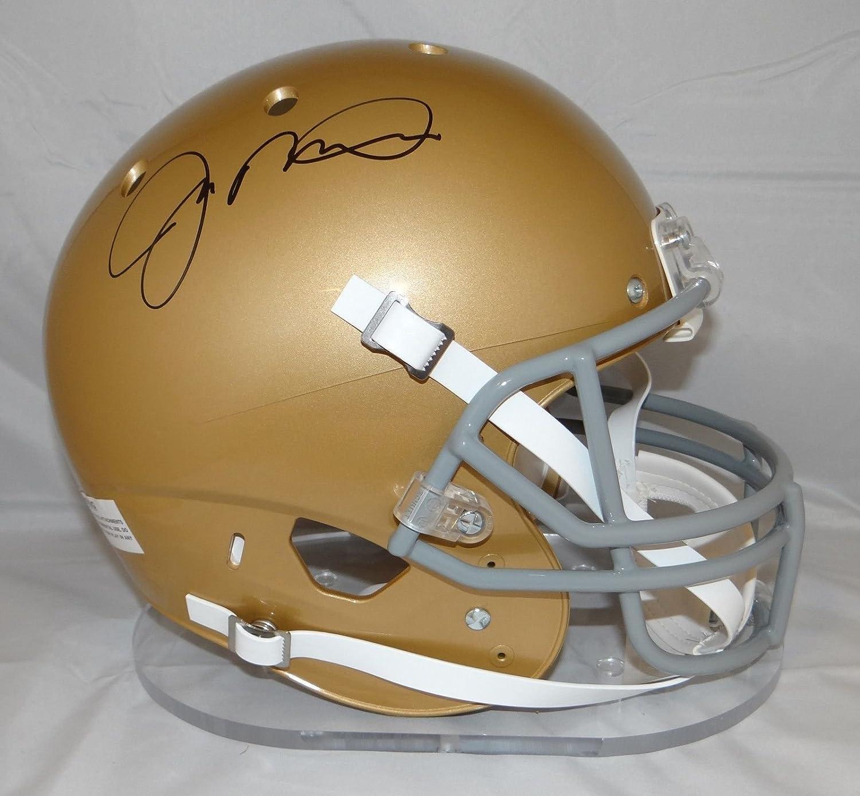 Joe Montana Autographed Notre Dame Fighting Irish F/S Schutt Helmet- JSA Auth