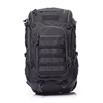 17190825ecd78 vAv YAKEDA Military Tactical Backpack Large Army 3 Day Assault Pack Molle  Bug Out Bag Backpacks