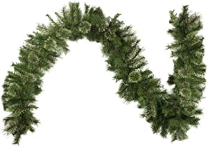 "NORTHLIGHT Z84649 9' x 10"" Atlanta Mixed Cashmere Pine Artificial Christmas Garland-Unlit"