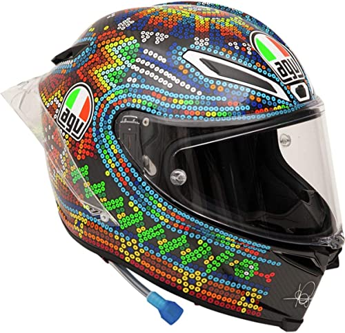 AGV Unisex-Adult Pista GP-R Valentino Rossi 2018 Winter Test Limited Edition