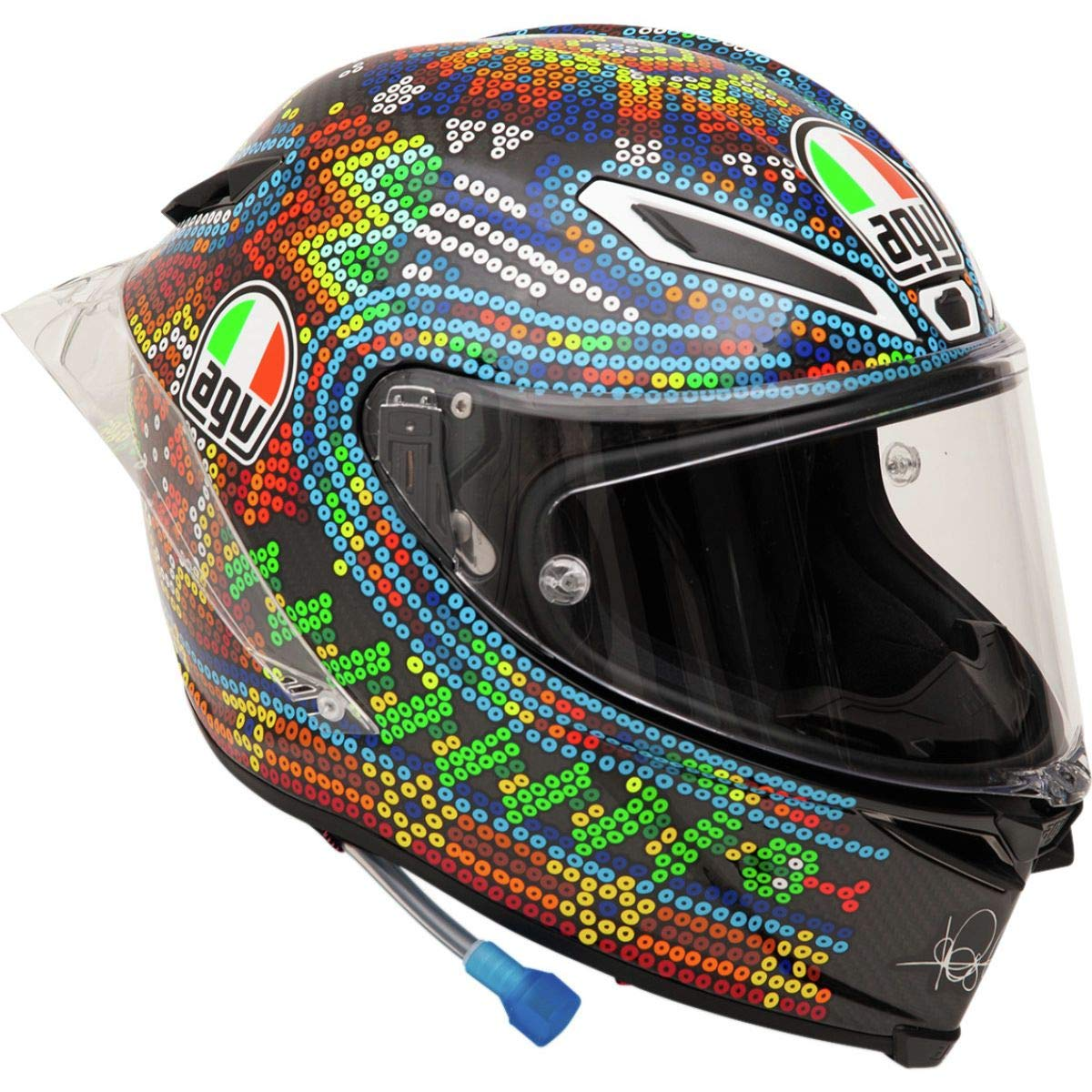Amazon.com: AGV Pista GP R Helmet - Winter Test 2018 (Small ...