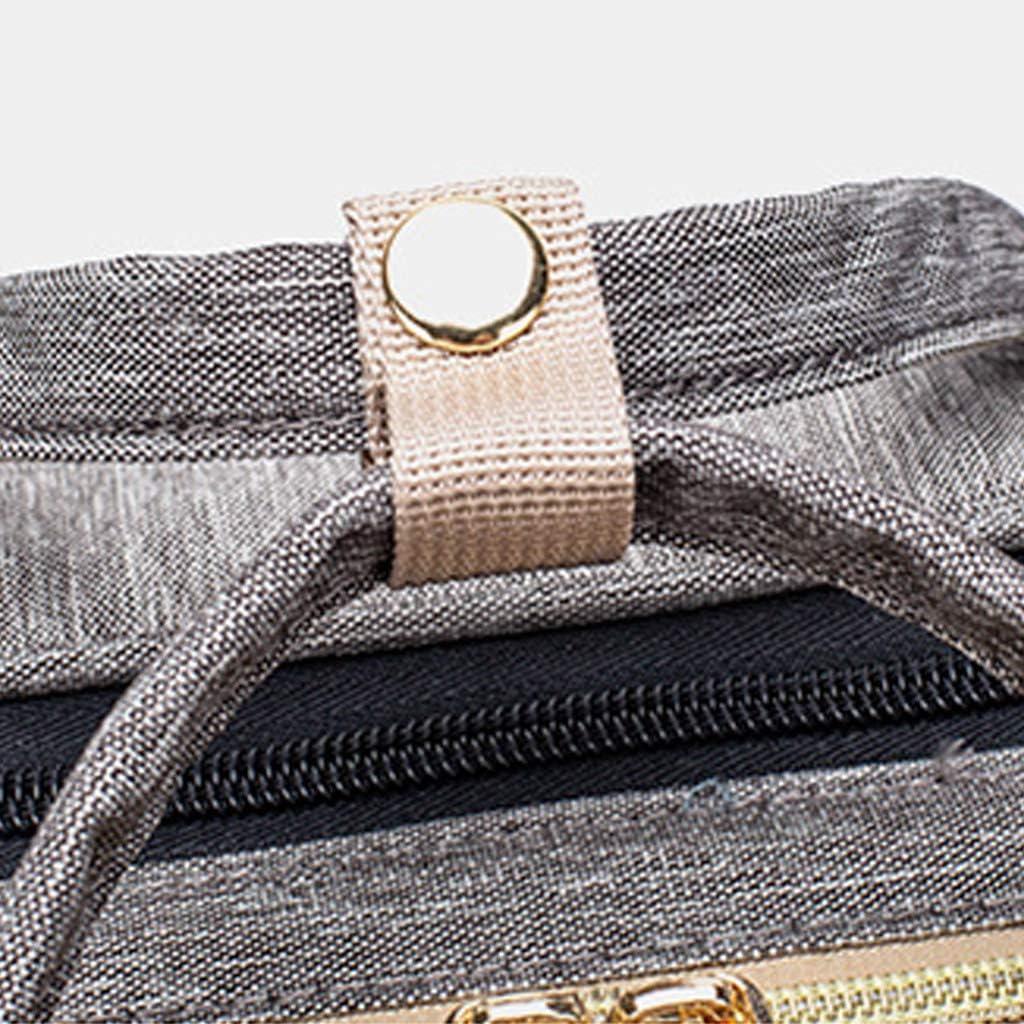 Diaper Bag Waterproof Xzmn 2 IN 1 Folding Crib Backpack /& /& Mom or Dad Multifunctional Large-Capacity Nappy Bags