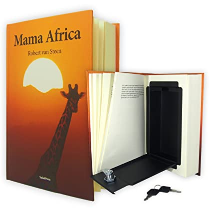 BOOK-ALIKE | Caja fuerte con forma de libro | El escondite camuflado con páginas