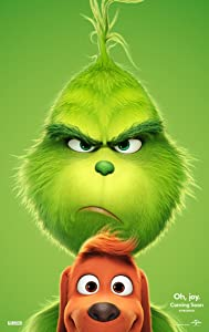 THE GRINCH MOVIE POSTER 2 Sided ORIGINAL Version B 27x40 DR. SEUSS BENEDICT CUMBERBATCH