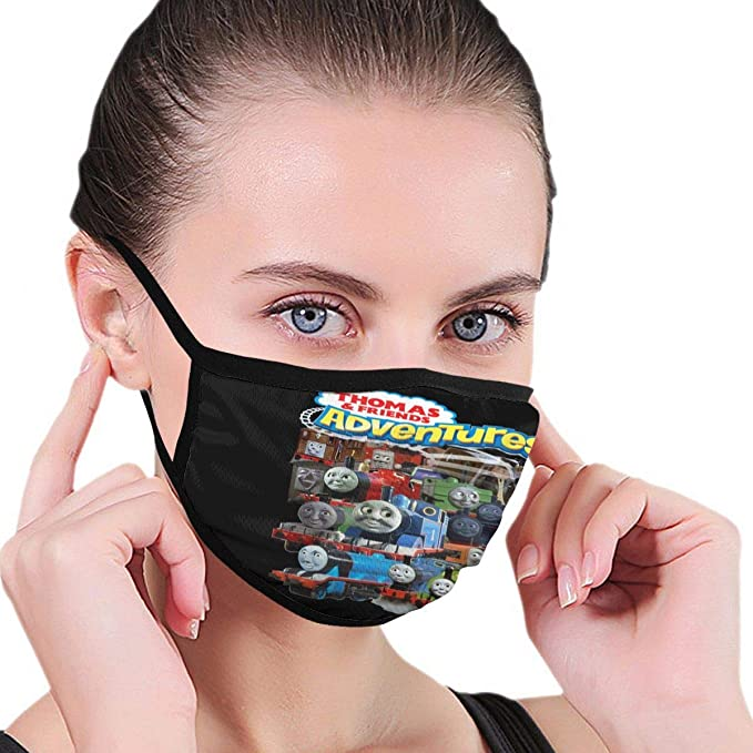 FACE MASK COVERING REVERSIBLE NOSE WIRE OPTION!! THOMAS THE TANK /& FRIENDS