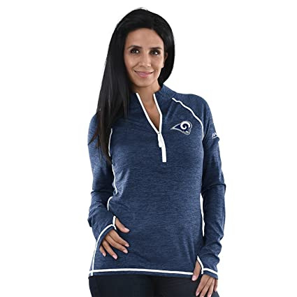 998c926d Amazon.com : Los Angeles Rams Women's Majestic NFL