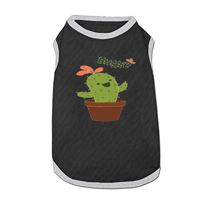 DGGGD Chaleco de Perro Hug Cactus Impreso para Mascotas, Disfraz ...
