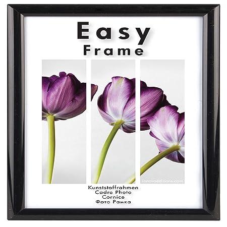 Innova Editions 50 x 50 cm/ 20 x 20-inch Easy Frame, Black: Amazon ...