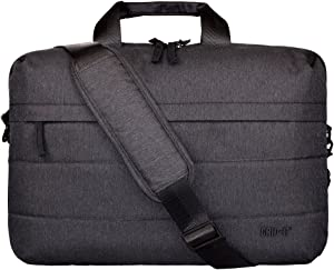 """Cocoon CLB3650CH TECH 16"""" Brief with Built-in Grid-IT! Accessory Organizer (Charcoal)"""