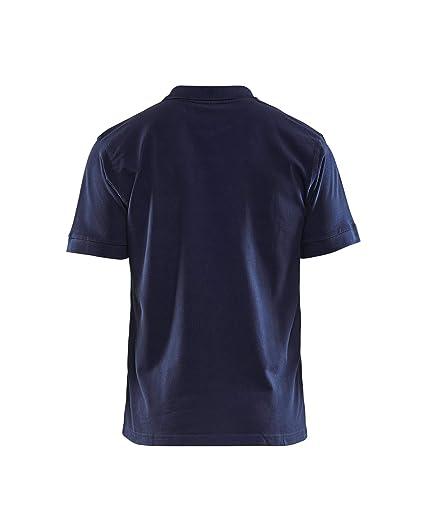 Blaklader Camiseta de Polo Azul Marino, Hombres, M: Amazon.es ...
