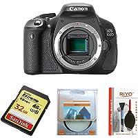 Canon EOS 600D Digital SLR Camera (Body Only) (discontinued by manufacturer) – (Discontinued by Manufacturer)