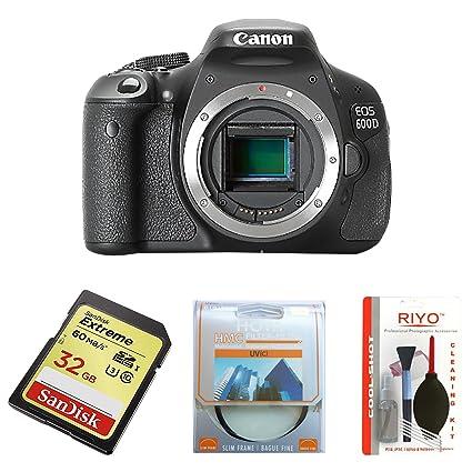 Canon EOS 600D - Cámara Réflex Digital 18.7 MP (Cuerpo): Amazon.es ...