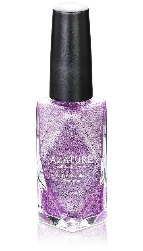 Buy AZATURE VIOLET DIAMOND Luxury Nail Polish Lacquer - 0.5 fl. Oz ...