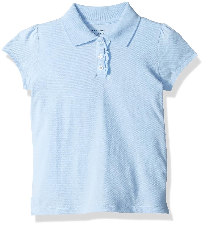 The Children's Place Big Girls' Uniform Short Sleeve Uniform Short Sleeve Polo