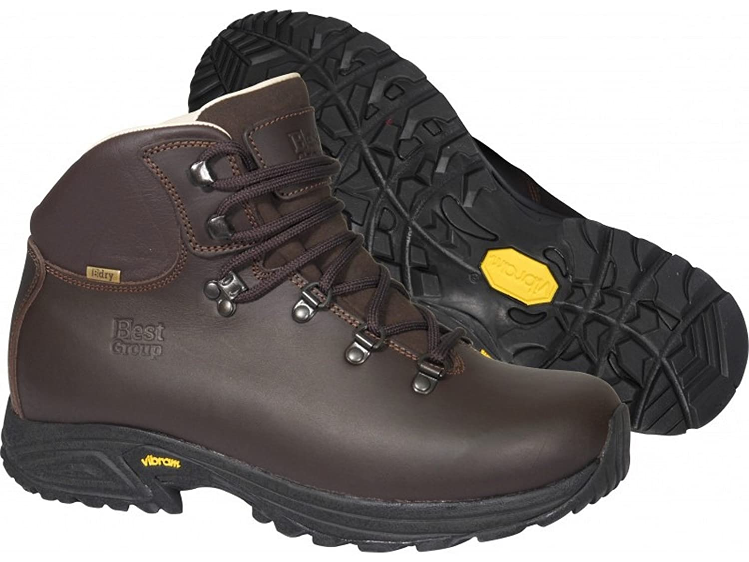 c910e798225 Best Group Storm Mens Womens Ulta Light Walking Hiking Leather Boots   Amazon.co.uk  Sports   Outdoors
