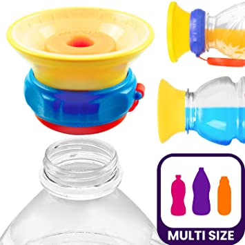 Universal Infant Silicone Spill-Proof Baby Sippy Cup Bottle Lids Glassware Lid G